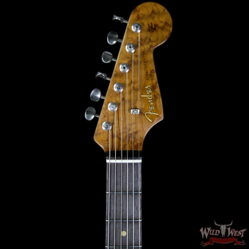 2017 Fender 2017 NAMM Fender Custom Shop 30th Anniversary LTD 1960 Roasted Stratocaster Relic Aged Black