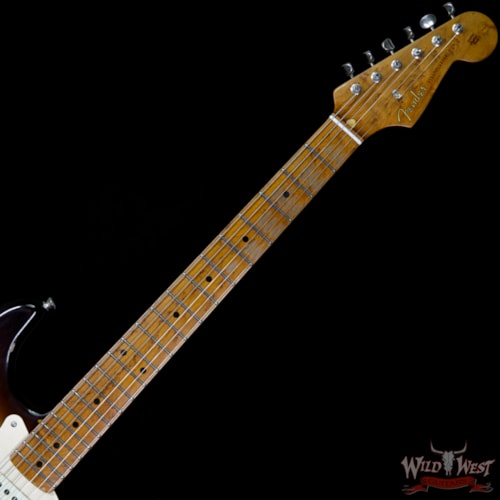2017 Fender 2017 NAMM Fender Custom Shop 30th Anniversary LTD 1956 Roasted Stratocaster Relic 2 Tone Sunburst