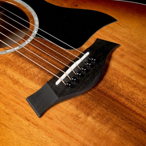 Taylor 224ce-K DLX Koa Grand Auditorium Acoustic-Electric Guitar Shaded Edgeburst