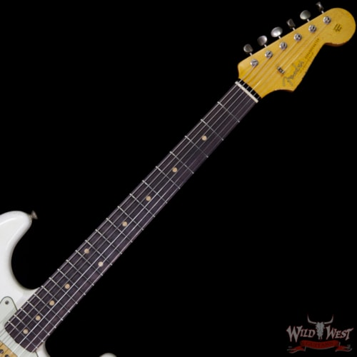 2017 Fender Custom Shop White Lightning 2.0 HSS Stratocaster Heavy Relic Rosewood 21 Frets Torino Red
