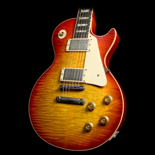 2011 Gibson Custom Shop Used 2011 Gibson Custom Shop '59 Les Paul Reissue Electric Guitar Washed Cherry
