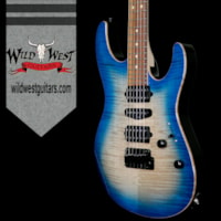 2017 Suhr Modern HSH Flame Top Basswood Body Quartersawn Map