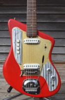 1965 Teisco  Zenon Electric 2 pup