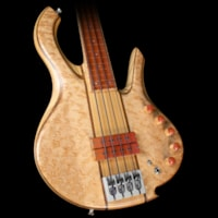 2009 Mike Browne Used 2009  Design Gnome Fretless 4 Electric Bass G