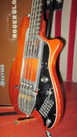 1979 Ovation Magnum II Bass owned by Roger Glover of Deep Purpl
