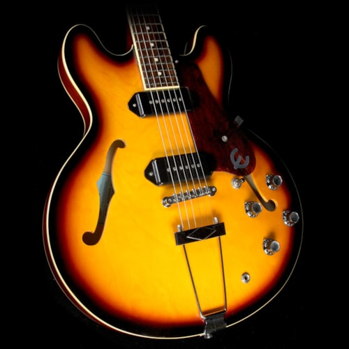 Epiphone Used 2011 Epiphone 1961 50th Anniversary Casino Hollowbody Electric Guitar Vintage Sunburst