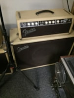 1961 Fender 1961 blonde Bassman® with tone ring cabinet