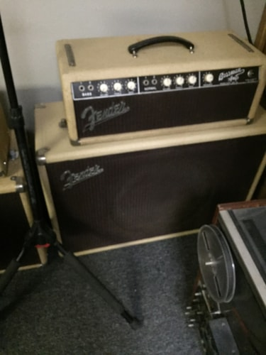 1961 Fender® 1961 blonde Bassman® with tone ring cabinet