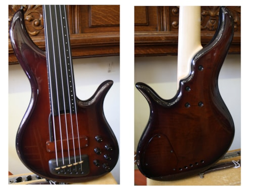 Furlanetto    F Bass, Fretless 5-String