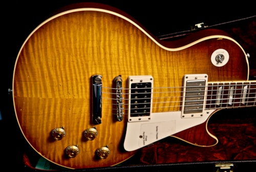 2010 gibson jimmy page number two les paul aged signed for Jimmy page les paul color