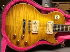 Gibson Les Paul Burst Restoration