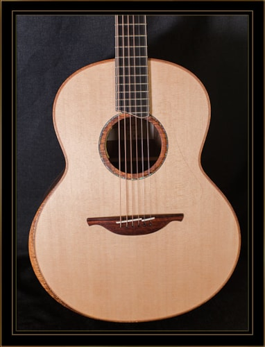 Lowden F-50 in Walnut with Sitka Spruce Top and LR Baggs Anthem