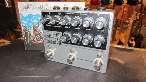 2017 EarthQuaker Devices Disaster Transport SR