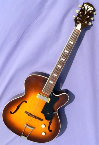 1954 Epiphone Zephyr Regent, Gleaming Condition!