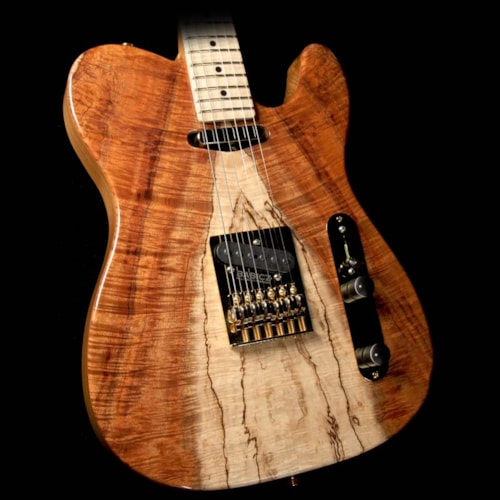 Landon Guitars TR1S Koa Electric Guitar Natural