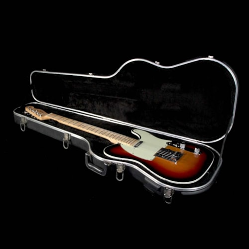 2007 Fender Used 2007 Fender American Deluxe Telecaster Electric Guitar 3 Color Sunburst
