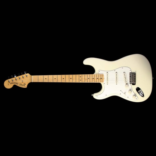1997 Fender® Used 1997 Fender® Jimi Hendrix Tribute Stratocaster® Electric Guitar Olympic White