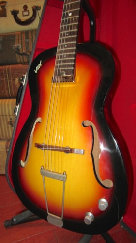 ~1965 Vox Student Prince Small Bodied Electric Hollowbody