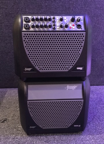 Acoustic Image Corus Series III amp and extension cabinet