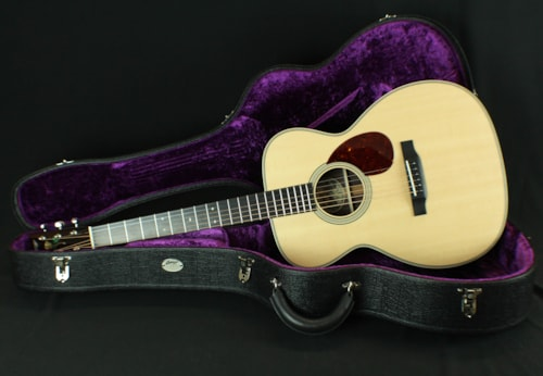 2017 Collings OM2H Orchestra Model w/Rose Inlay, Adirondack Spruce Bracing
