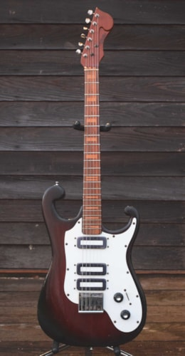 1965 STILES Scroll 3 pickup natural mahogany > Guitars Electric ...