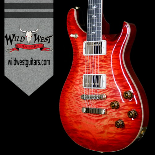 2017 Paul Reed Smith PRS Wood Library Artist Package McCarty 594 Quilt Maple Top Ebony Fretboard Blood Orange