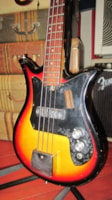 1965 Kay Teisco Electric Bass
