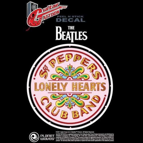 D'Addario Planet Waves Sgt. Pepper's Lonely Hearts Club Band 50th Anniversary Woven Guitar Strap