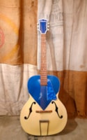 1956 Silvertone 653L Kentucky Blue