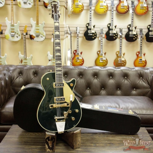 Jones Cadillac: 2017 Gretsch G6128TCG Duo Jet With Bigsby Rosewood Fingerboard TV Jones Gold Hardware Cadillac