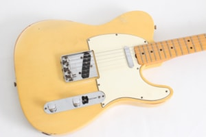 1968 Fender Telecaster Blonde w/case - Flamed maple neck! -