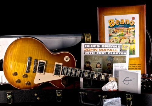 "2011 Gibson Custom Shop Eric Clapton 1960 ""Beano"" Les Paul Aged / Signed"