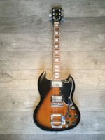 1975 Gibson SG with Bigsby