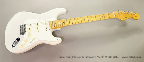 2014 Fender Eric Johnson Stratocaster Maple