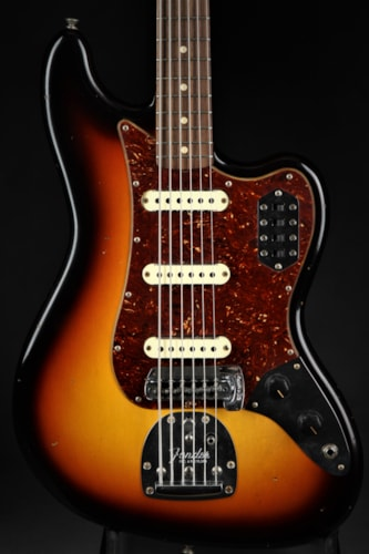 Fender Custom Shop LTD 1960s Journeyman Relic® Bass VI - 3 Tone Sun