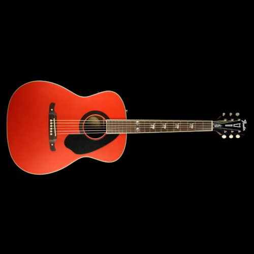 Fender FSR Tim Armstrong Hellcat Acoustic-Electric Guitar Ruby Red