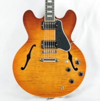 2016 Gibson ES-335 FIGURED Fade Light Burst Flametop! Block in