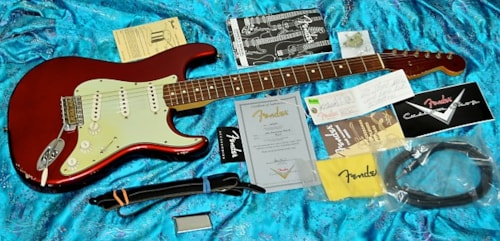 2007 Fender '60 Relic Stratocaster Custom Shop