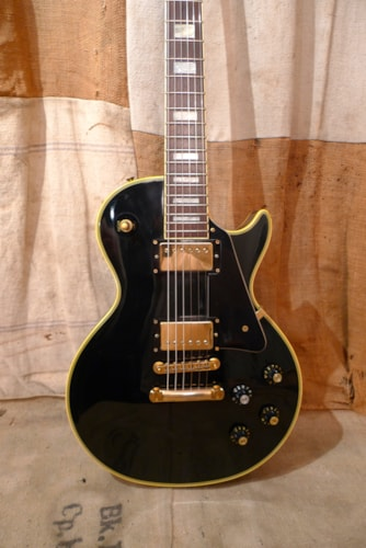 1990 greco egc 480 les paul custom ebony black guitars electric solid body southside guitars. Black Bedroom Furniture Sets. Home Design Ideas