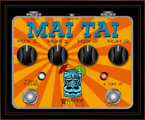 Tortuga Effects Mai Tai Dual Phaser