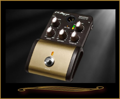 L.R. Baggs Session DI Acoustic Guitar Preamp Pedal