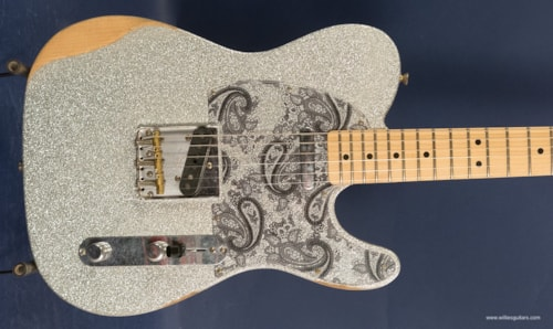 2018 Fender Brad Paisely Road Worn Telecaster