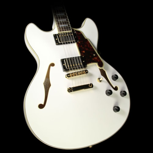 D'Angelico Used D'Angelico EX-DCSP Electric Guitar White