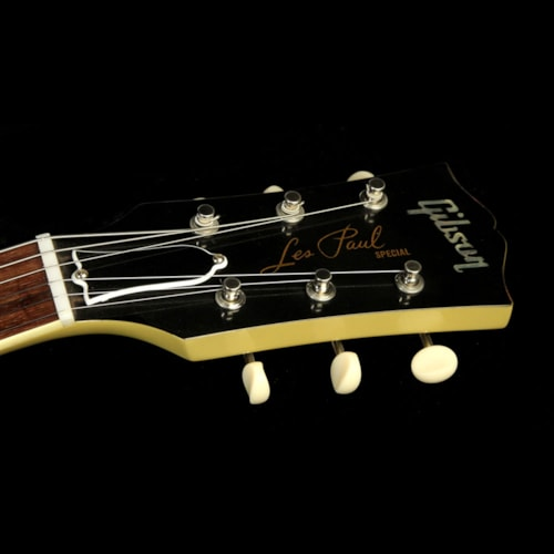 Gibson Custom Shop Used Gibson Custom Shop Made 2 Measure Custom Bucker Les Paul Special Electric Guitar TV Yellow