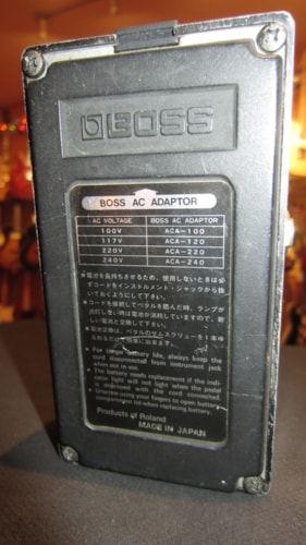 ~1986 BOSS HM-2 Heavy Metal Distortion