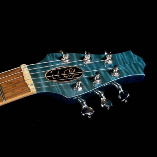 Giffin Used Giffin Micro Electric Guitar Peacock Blue