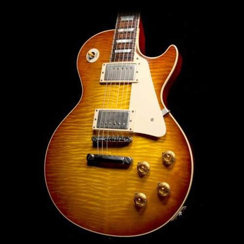 2016 Gibson Custom Shop Used 2016 Gibson Custom 1958 Standard Historic Reissue Les Paul Electric Guitar Iced Tea