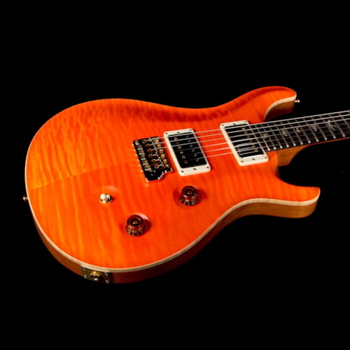 2016 Paul Reed Smith Used 2016 Paul Reed Smith Wood Library Custom 24 Fatback Electric Guitar Satin Koi Orange