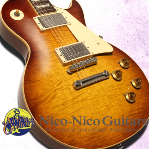 2015 Gibson Custom Shop Historic Select 1958 Les Paul Figured Vintage Gloss Hand Sel