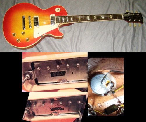 1973 Gibson LES PAUL DELUXE (no breaks)